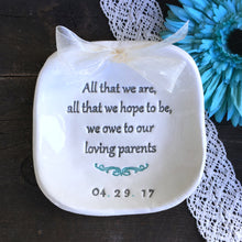 All That We Are Keepsake Dish for Parents