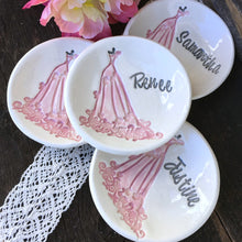 Bridesmaid Ring & Jewelry Dish - Lace Gown - Say Your Piece!