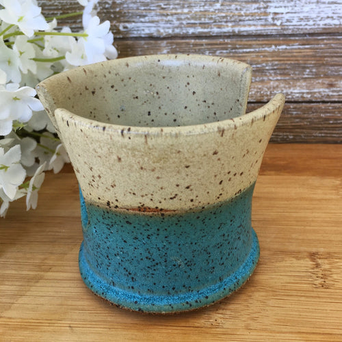 Stoneware Kitchen Sponge Caddy