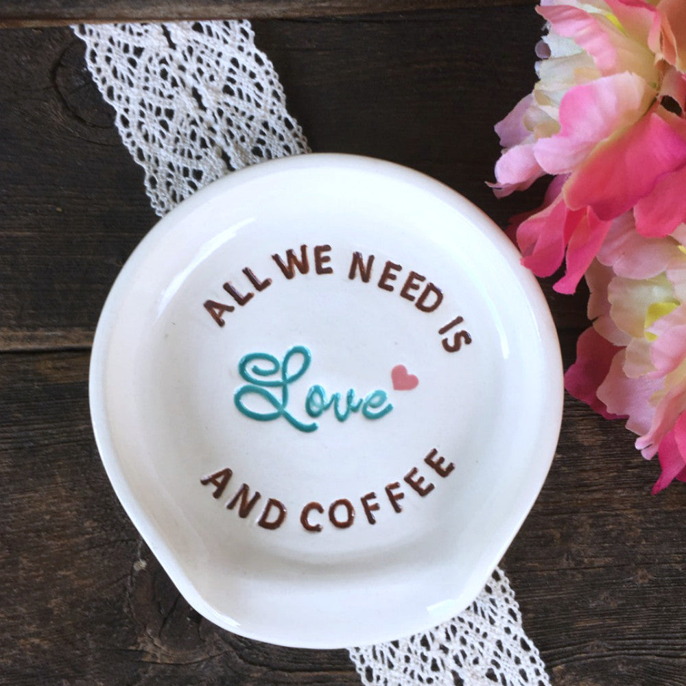 Spoon Rest - All We Need is Love (and Coffee) - Say Your Piece!