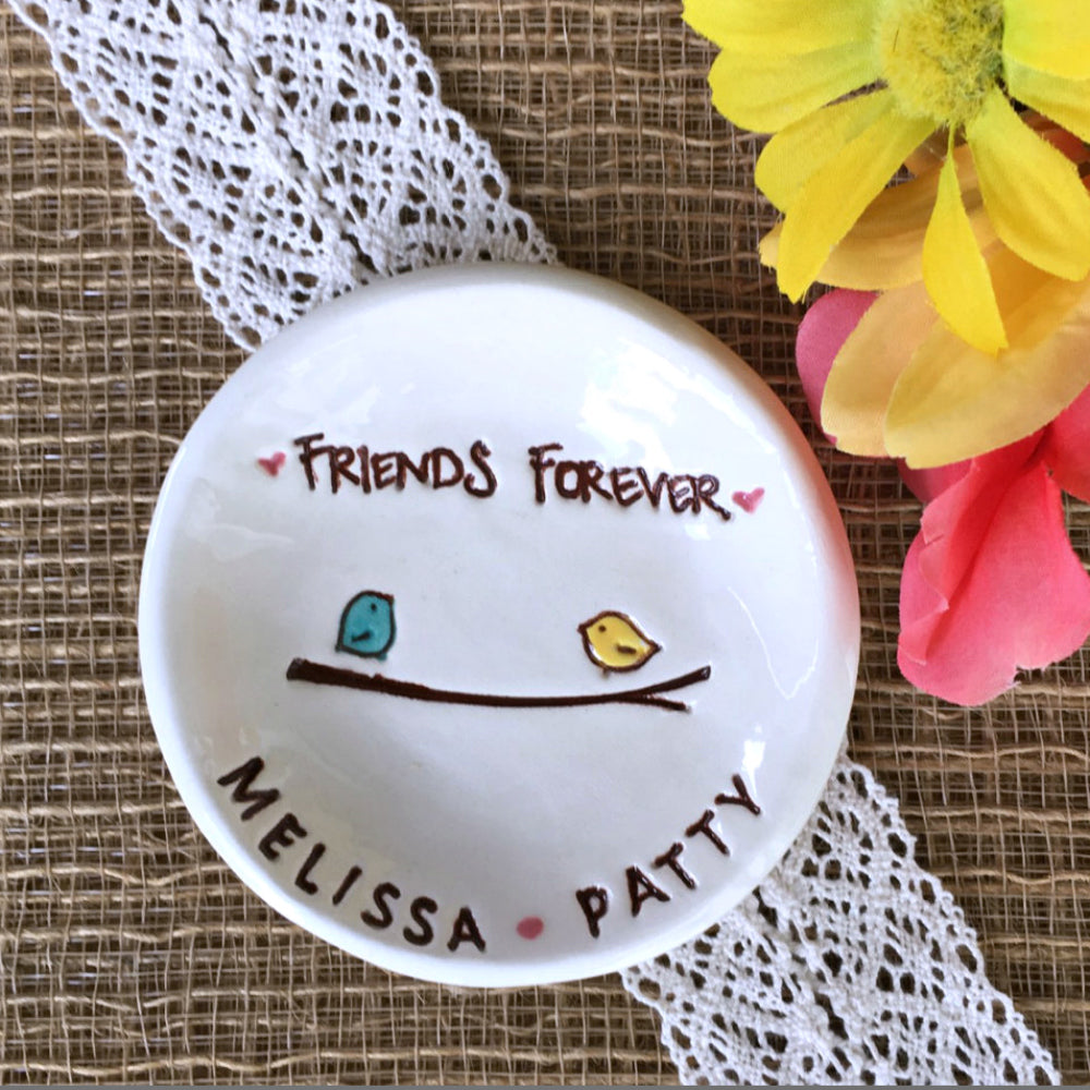 Friends Forever Ring Dish - Say Your Piece!