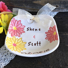 Daisy Themed Personalized Ring Bearer Bowl - Say Your Piece!