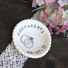 Godparents Keepsake Dish - Say Your Piece!
