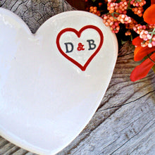 Personalized Heart Dish - Say Your Piece!