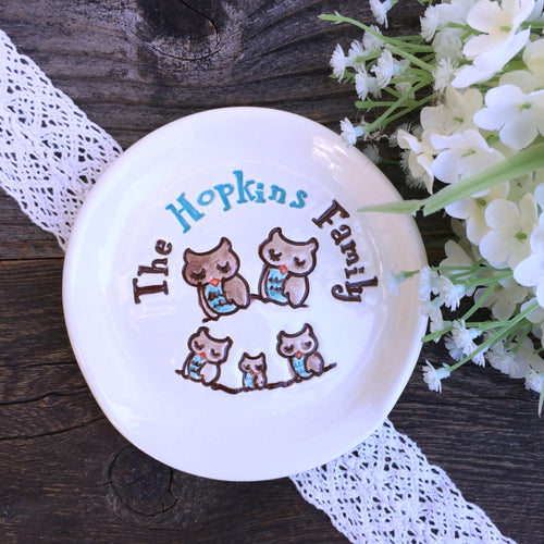 Personalized Family Spoon Rest - Say Your Piece!