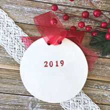 Monogrammed Christmas Ornament - Say Your Piece!