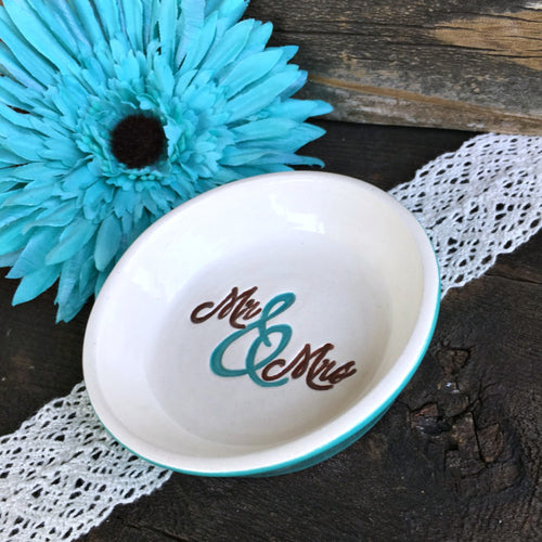 Mr & Mrs Ring & Jewelry Dish by Say Your Piece!