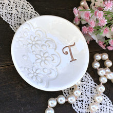 Doily Lace Impressed Ring Dish by Say Your Piece!