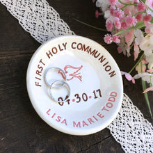 Personalized First Holy Communion Dove Keepsake Dish - Say Your Piece!