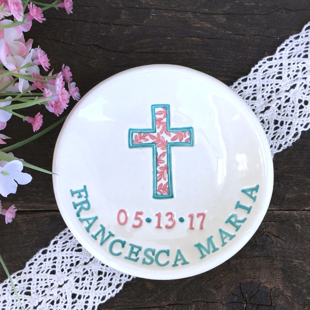 Religious Keepsake Dish by Say Your Piece!