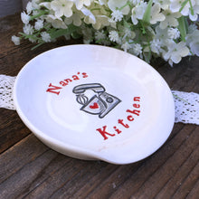 Nana's Kitchen Personalized Ceramic Spoon Rest - Say Your Piece!