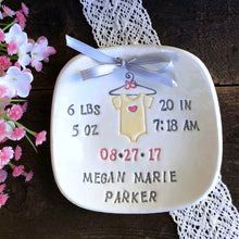 New Baby Birth Keepsake - Personalized Baby Onesie Design - Say Your Piece!