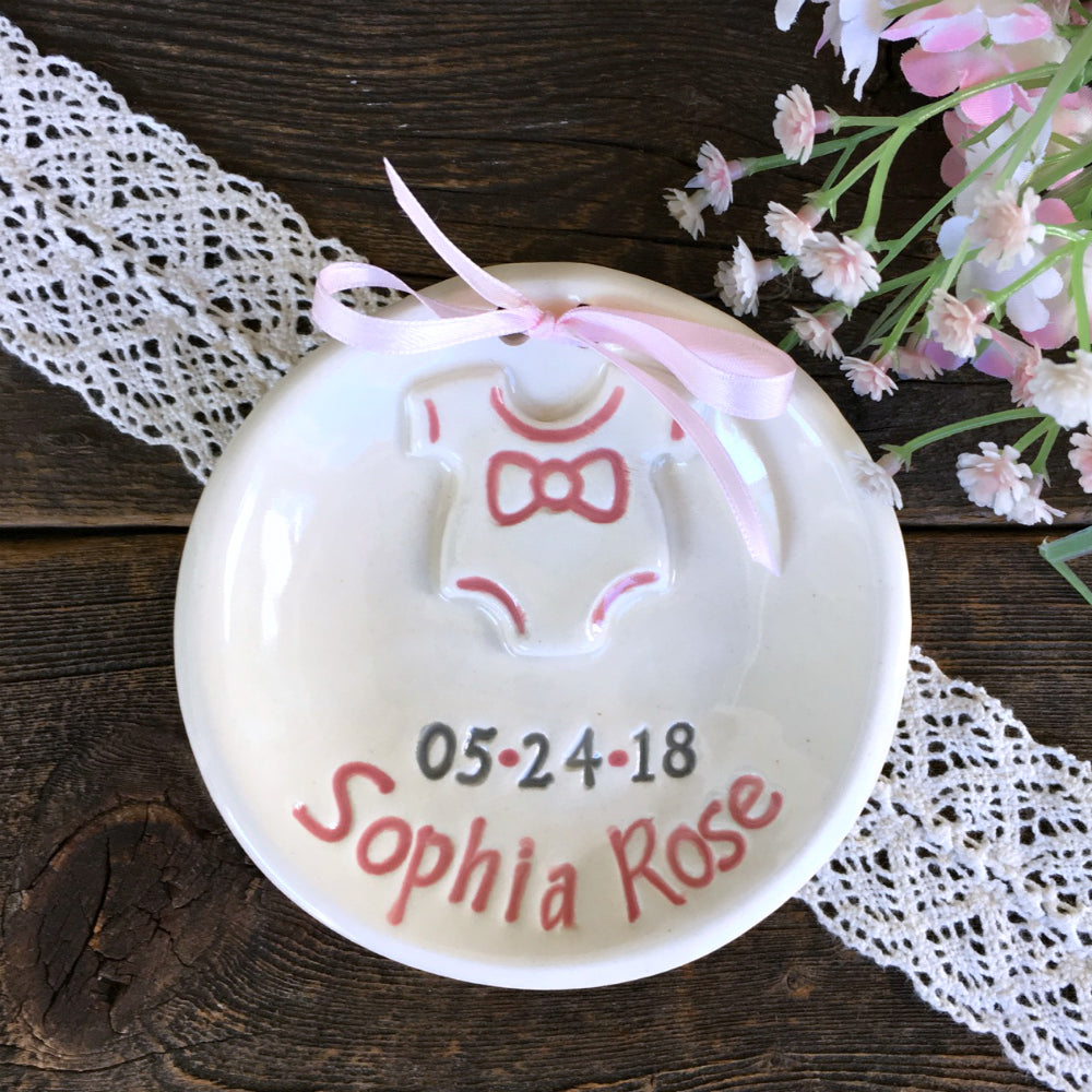 Personalized Birth Plate w/
