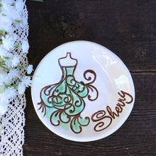Unique Bridesmaid Gift Dish w/Stylized Dress Image - Say Your Piece!