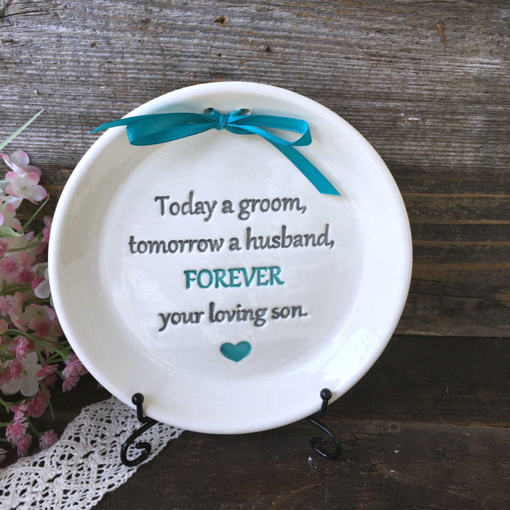 Today a Groom, Tomorrow a Husband - Gift for Parents of the Groom - Say Your Piece!