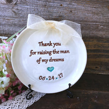 Thank You for Raising the Man of My Dreams - Parent's Wedding Keepsake - Say Your Piece!