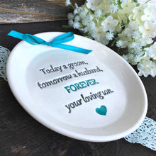 Today a Groom Keepsake Plate by Say Your Piece!