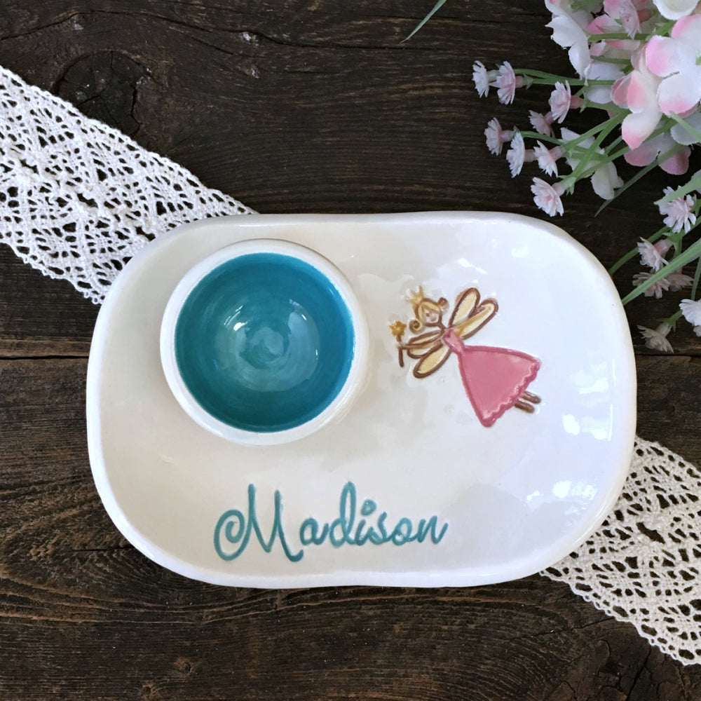 Personalized Tooth Fairy Dish - Say Your Piece!