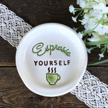 Espresso Yourself Ceramic Spoon Rest - Say Your Piece!