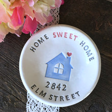 Home Sweet Home Personalized Housewarming Gift Dish