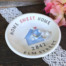 Home Sweet Home Personalized Housewarming Gift Dish - Say Your Piece!