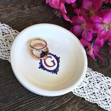 Unique Monogrammed Ring Dish - Say Your Piece!