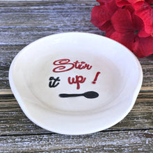 Stir it Up! Ceramic Spoon Rest - Say Your Piece!