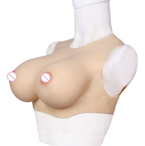 TOP QUALITY! Silicone Breast Forms - Round collar