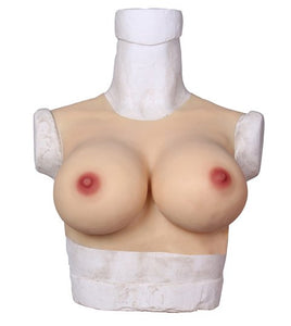 Silicone Breast Forms (Round collar)