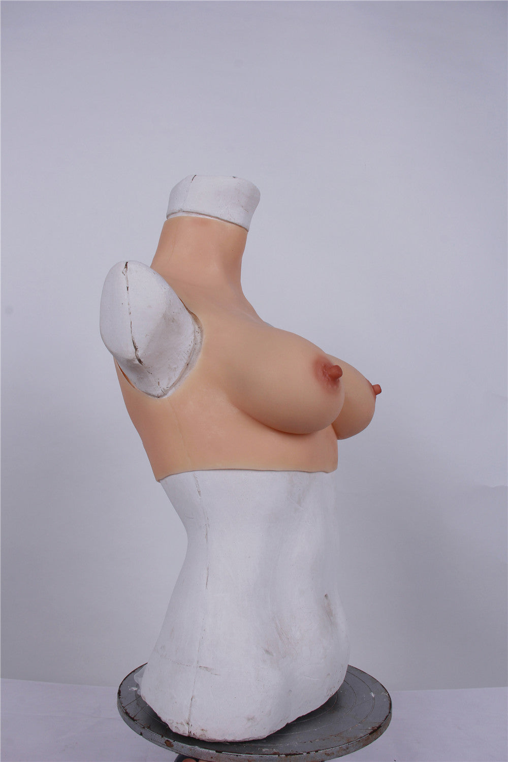 TOP QUALITY! Silicone Breast Forms - High collar