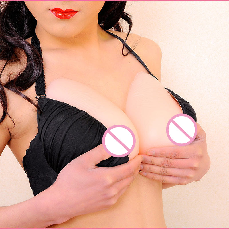 Silicone Breast Forms With Bra