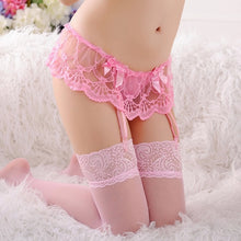 Load image into Gallery viewer, Sexy Stockings Floral Lace