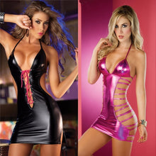 Load image into Gallery viewer, Hot Latex Erotic Lingerie