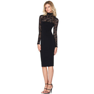 Open image in slideshow, Lace Evening Dress