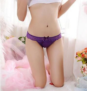 Sexy Panties Low Waist Hollow briefs