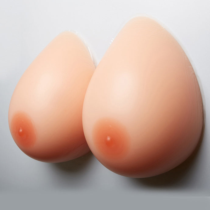 600g/pair Silicone Breast Forms