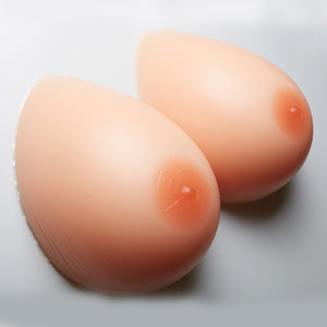 1200g/pair Silicone Breast Forms