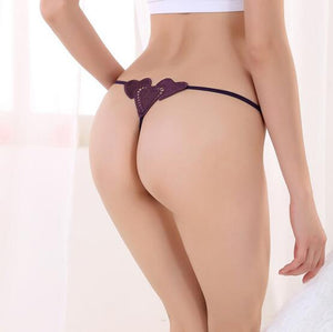 G-Strings Lingerie Lace Briefs Transparent