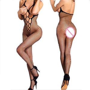 Open image in slideshow, Sexy Fishnet Babydoll