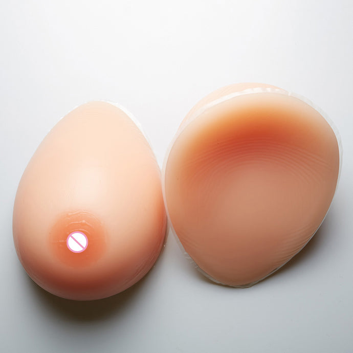 800g/pair Silicone Breast Forms