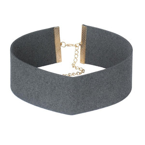 Slut - Multiple Colors Wide Chokers