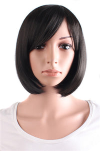 Black / Brown Short Wigs