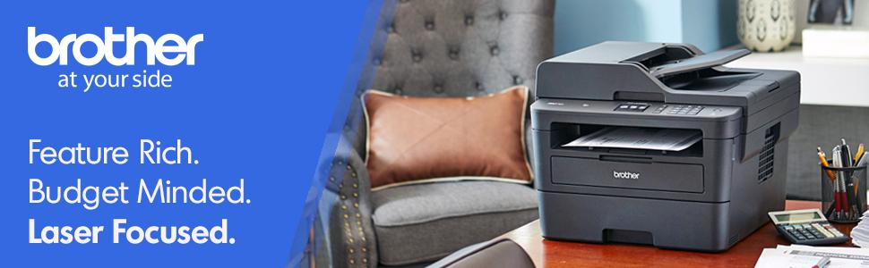 Brother MFCL2750DW Wireless Monochrome Printer