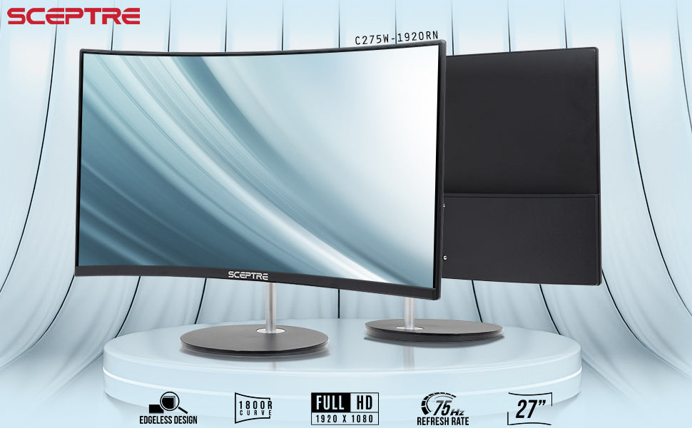 Sceptre Curved 27 inch 75Hz LED Monitor