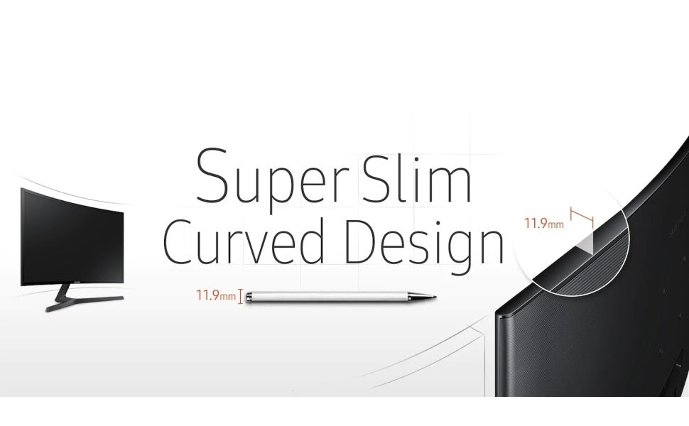 Samsung  24-Inch Curved Monitor