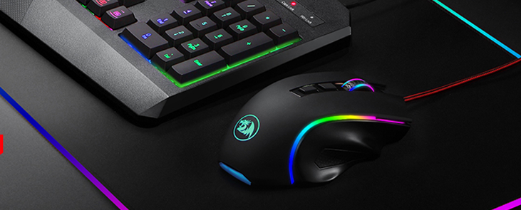 TeciSoft M602 RGB Wired Gaming Mouse