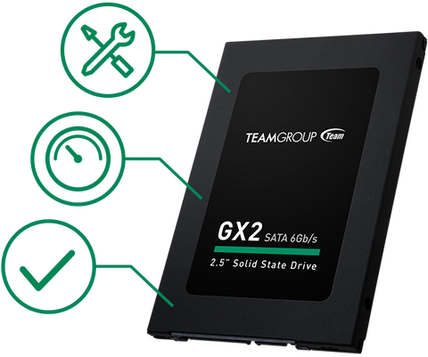 Team Group GX2 2.5  SATA III Internal Solid State Drive SSD Drive