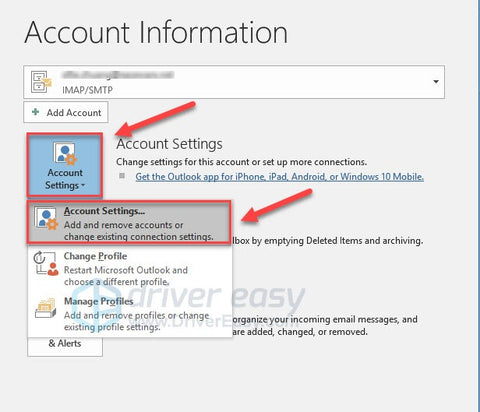 How To Repair Your Outlook Profile