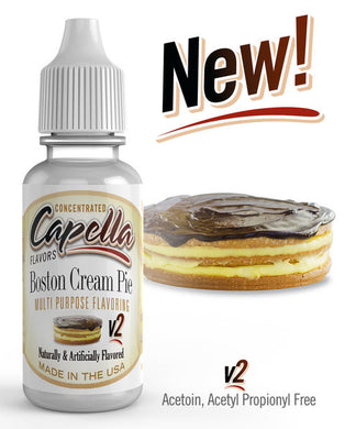 Boston Cream Pie V2 (Cap)
