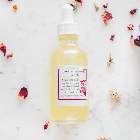 Rosehip and Neroli Body Oil